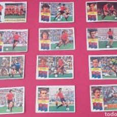 Cromos de Fútbol: LOTE CROMOS OSASUNA LIGA ESTE 82-83 TODOS DISTINTOS. NUNCA PEGADOS. Lote 254192800