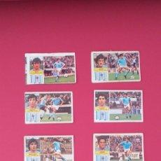 Cromos de Fútbol: LOTE CROMOS CELTA DE VIGO LIGA ESTE 82-83 TODOS DISTINTOS. DESPEGADOS/RECUPERADOS.. Lote 254193270