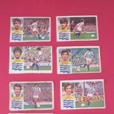 Cromos de Fútbol: LOTE CROMOS REAL SOCIEDAD LIGA ESTE 82-83 TODOS DISTINTOS. DESPEGADOS/RECUPERADOS.. Lote 254193890