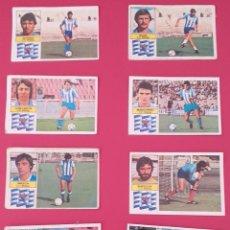 Cromos de Fútbol: LOTE CROMOS MÁLAGA LIGA ESTE 82-83 TODOS DISTINTOS. DESPEGADOS/RECUPERADOS.. Lote 254194360