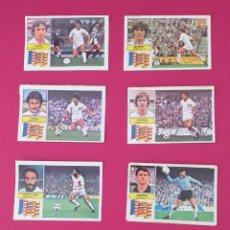 Cromos de Fútbol: LOTE CROMOS VALENCIA LIGA ESTE 82-83 TODOS DISTINTOS. DESPEGADOS/RECUPERADOS.. Lote 254195685