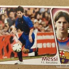 Cromos de Fútbol: MESSI CROMO ROOKIE MESSI BARCELONA COLOCA EDICIONES ESTE LIGA 2004 2005 04 05 (VER Y LEER). Lote 254346610