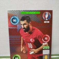 Cromos de Fútbol: ARDA TURAN Nº 415 ( TURQUIA ) - TOP JOUEUR - ADRENALYN EURO 2016 FRANCIA - PANINI CROMO CARD. Lote 289282743
