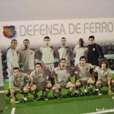 Cromos de Fútbol: DEFENSA DE FERRO FC BARCELONA Nº 6 - MEGACRACKS BARÇA CAMPIO 2004 2005 PANINI - EN CATALAN - MGK. Lote 254372390