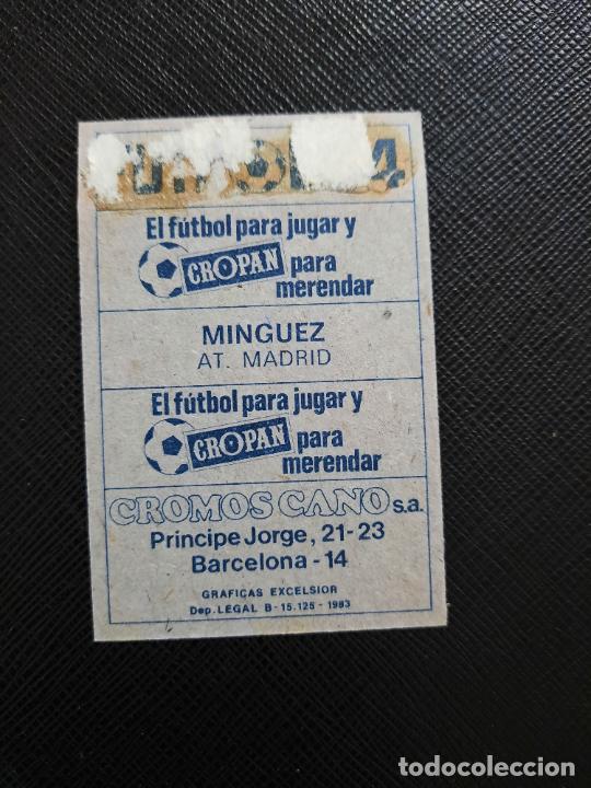 Cromos de Fútbol: MINGUEZ AT MADRID CANO 1983 1984 CROMO FUTBOL LIGA 83 84 - DESPEGADO - CROPAN 779 - Foto 2 - 254456410