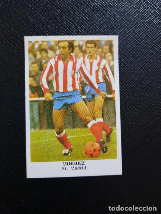 MINGUEZ AT MADRID CANO 1983 1984 CROMO FUTBOL LIGA 83 84 - DESPEGADO - CROPAN 779 (Coleccionismo Deportivo - Álbumes y Cromos de Deportes - Cromos de Fútbol)