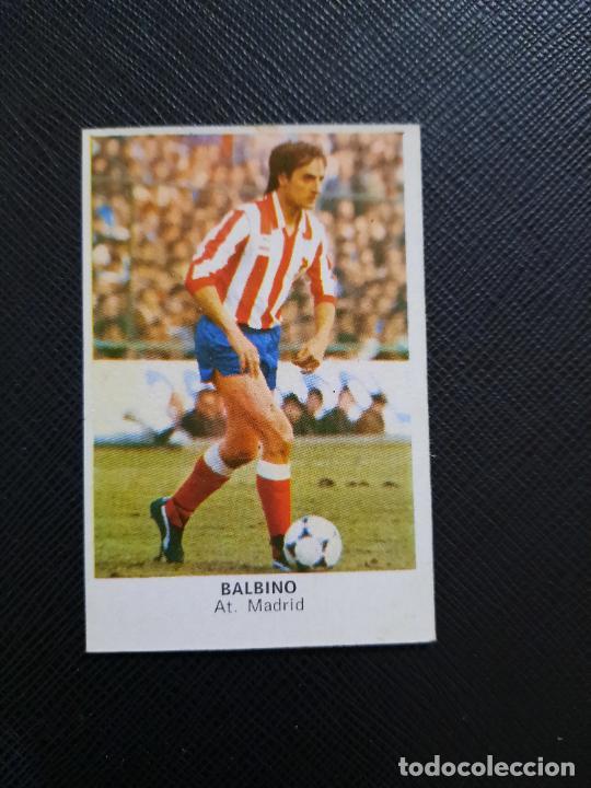 BALBINO AT MADRID CANO 1983 1984 CROMO FUTBOL LIGA 83 84 - DESPEGADO - CROPAN 780 (Coleccionismo Deportivo - Álbumes y Cromos de Deportes - Cromos de Fútbol)