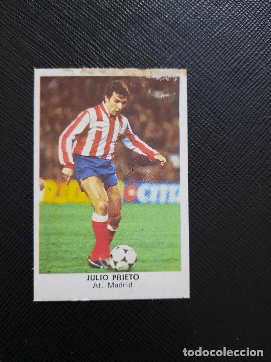 JULIO PRIETO AT MADRID CANO 1983 1984 CROMO FUTBOL LIGA 83 84 - DESPEGADO - CROPAN 781 (Coleccionismo Deportivo - Álbumes y Cromos de Deportes - Cromos de Fútbol)