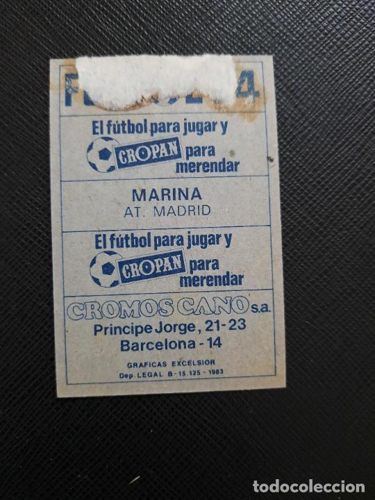 Cromos de Fútbol: MARINA AT MADRID CANO 1983 1984 CROMO FUTBOL LIGA 83 84 - DESPEGADO - CROPAN 783 - Foto 2 - 254456740