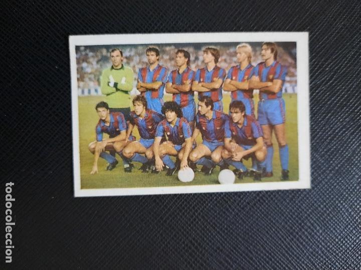 ALINEACION BARCELONA CANO 1983 1984 CROMO FUTBOL LIGA 83 84 - DESPEGADO - CROPAN 786 MARADONA (Coleccionismo Deportivo - Álbumes y Cromos de Deportes - Cromos de Fútbol)