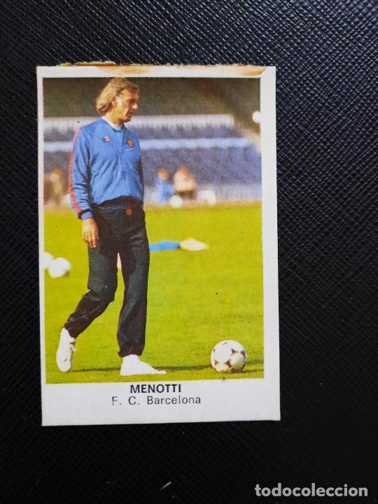 MENOTTI BARCELONA CANO 1983 1984 CROMO FUTBOL LIGA 83 84 - DESPEGADO - CROPAN 787 (Coleccionismo Deportivo - Álbumes y Cromos de Deportes - Cromos de Fútbol)