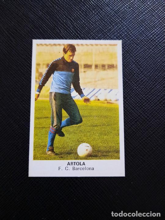ARTOLA BARCELONA CANO 1983 1984 CROMO FUTBOL LIGA 83 84 - DESPEGADO - CROPAN 788 (Coleccionismo Deportivo - Álbumes y Cromos de Deportes - Cromos de Fútbol)