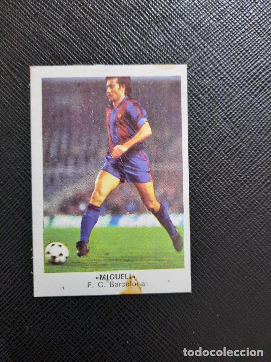 MIGUELI BARCELONA CANO 1983 1984 CROMO FUTBOL LIGA 83 84 - DESPEGADO - CROPAN 791 (Coleccionismo Deportivo - Álbumes y Cromos de Deportes - Cromos de Fútbol)
