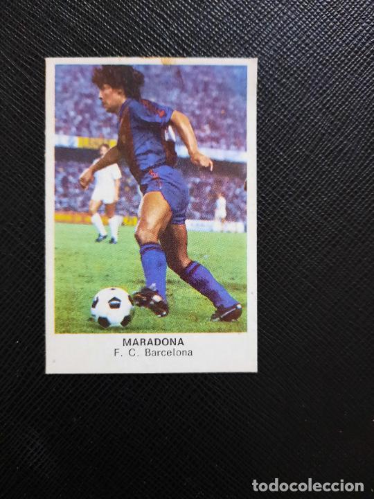 MARADONA BARCELONA CANO 1983 1984 CROMO FUTBOL LIGA 83 84 - DESPEGADO - CROPAN WW1 151 VERSION (Coleccionismo Deportivo - Álbumes y Cromos de Deportes - Cromos de Fútbol)
