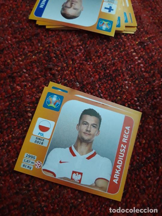 RECA POLONIA 466 EURO 2020 20 TOURNAMEMT EDITION TRADING CARD FOOTBALL (Coleccionismo Deportivo - Álbumes y Cromos de Deportes - Cromos de Fútbol)