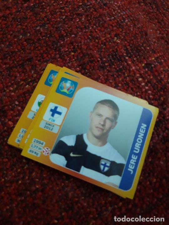 URONEN FINLANDIA 185 EURO 2020 20 TOURNAMEMT EDITION TRADING CARD FOOTBALL (Coleccionismo Deportivo - Álbumes y Cromos de Deportes - Cromos de Fútbol)