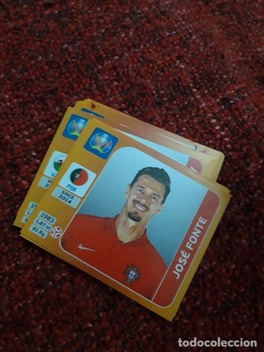 662 PORTUGAL FONTE EURO 2020 20 TOURNAMEMT EDITION TRADING CARD FOOTBALL (Coleccionismo Deportivo - Álbumes y Cromos de Deportes - Cromos de Fútbol)