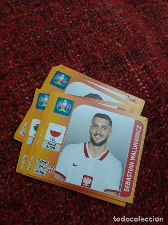 POLONIA WALUKIEWICZ 468 EURO 2020 20 TOURNAMEMT EDITION TRADING CARD FOOTBALL (Coleccionismo Deportivo - Álbumes y Cromos de Deportes - Cromos de Fútbol)