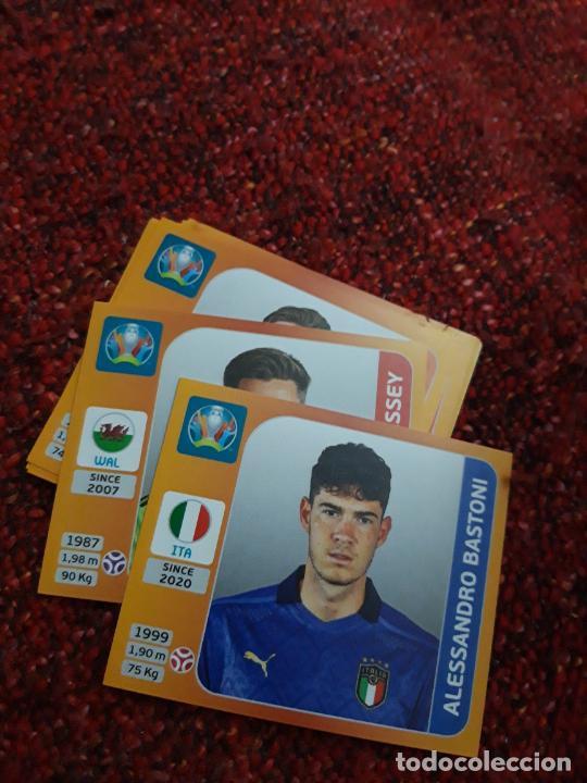 BASTÓNI ITALIA 15 EURO 2020 20 TOURNAMEMT EDITION TRADING CARD FOOTBALL (Coleccionismo Deportivo - Álbumes y Cromos de Deportes - Cromos de Fútbol)