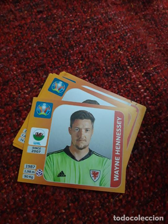HENNESSEY GALES 99 EURO 2020 20 TOURNAMEMT EDITION TRADING CARD FOOTBALL (Coleccionismo Deportivo - Álbumes y Cromos de Deportes - Cromos de Fútbol)