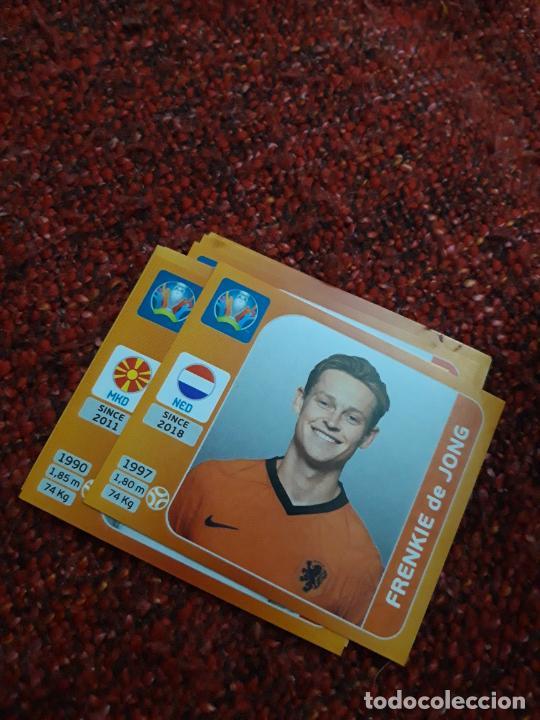 DE JONG HOLANDA 280 EURO 2020 20 TOURNAMEMT EDITION TRADING CARD FOOTBALL (Coleccionismo Deportivo - Álbumes y Cromos de Deportes - Cromos de Fútbol)