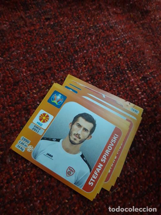 SPIROVSKI MACEDONIA 304 EURO 2020 20 TOURNAMEMT EDITION TRADING CARD FOOTBALL (Coleccionismo Deportivo - Álbumes y Cromos de Deportes - Cromos de Fútbol)
