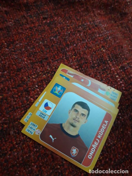 KUDELA 388 REPUBLICA CHECA EURO 2020 20 TOURNAMEMT EDITION TRADING CARD FOOTBALL (Coleccionismo Deportivo - Álbumes y Cromos de Deportes - Cromos de Fútbol)