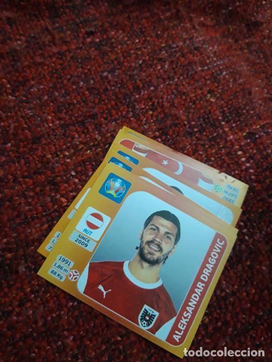 DRAGOVIC 239 AUSTRIA EURO 2020 20 TOURNAMEMT EDITION TRADING CARD FOOTBALL (Coleccionismo Deportivo - Álbumes y Cromos de Deportes - Cromos de Fútbol)