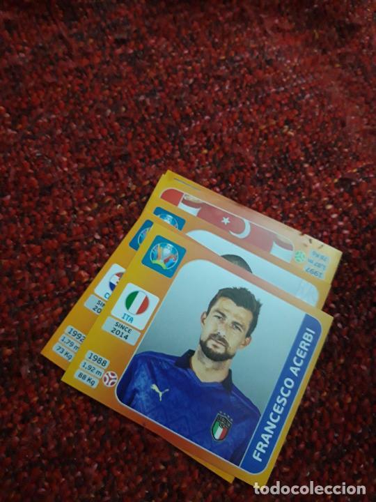 14 ACERBI ITALIA EURO 2020 20 TOURNAMEMT EDITION TRADING CARD FOOTBALL (Coleccionismo Deportivo - Álbumes y Cromos de Deportes - Cromos de Fútbol)