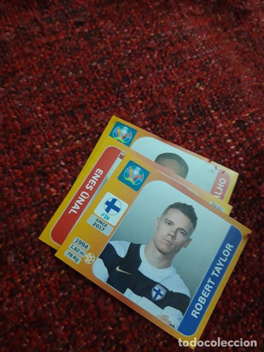 TAYLOR FINLANDIA 194 EURO 2020 20 TOURNAMEMT EDITION TRADING CARD FOOTBALL (Coleccionismo Deportivo - Álbumes y Cromos de Deportes - Cromos de Fútbol)