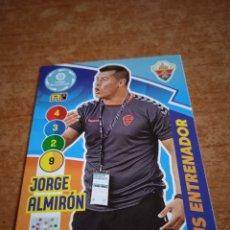Cromos de Fútbol: JORGE MOLINA #480 PLUS ENTRENADOR ADRENALYN 2020-2021 ELCHE FC. Lote 254495620