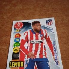 Cromos de Fútbol: LEMAR #46BIS ACTUALIZACIÓN ADRENALYN 2020-2021 AT DE MADRID. Lote 254496535