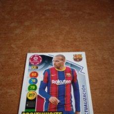 Cromos de Fútbol: BRAITWAITE #68BIS ACTUALIZACIÓN ADRENALYN 2020-2021 FC BARCELONA. Lote 254496805