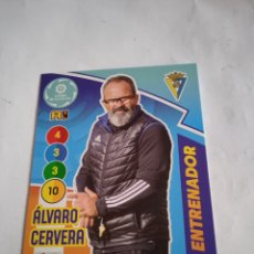 Cromos de Fútbol: ÁLVARO CERVERA #477 PLUS ENTRENADOR ADRENALYN 2020-2021 CÁDIZ FC. Lote 254499725