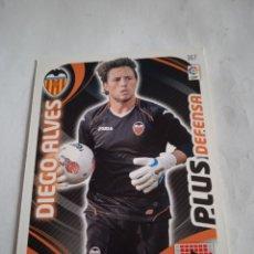 Cromos de Fútbol: DIEGO ALVES #367 PLUS ENTRENADOR ADRENALYN 2011-2012 VALENCIA FC. Lote 254500325