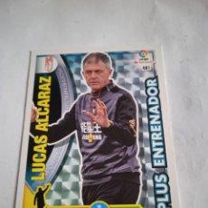 Cromos de Fútbol: LUCAS ÁLCARAZ #481 PLUS ENTRENADOR ADRENALYN 2016-2017. Lote 254500705