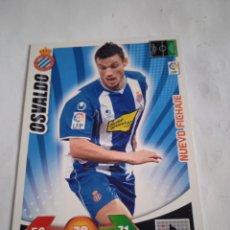 Cromos de Fútbol: OSVALDO NUEVO FICHAJE ADRENALYN 2009-2010 ACTUALIZACIÓN RCD ESPAÑOL. Lote 254501870