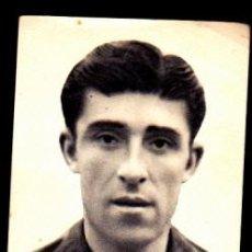 Cromos de Fútbol: CROMO FUTBOL FOTOS DEPORTIVAS EDICIONES FHER 1942 SOLE ALCOYANO. Lote 254561665