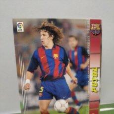 Cromos de Fútbol: PUYOL CARLES Nº 59 (F C BARCELONA) MEGACRACKS 2004 2005 04 05 PANINI CROMO LIGA FÚTBOL MGK BARÇA. Lote 285262428