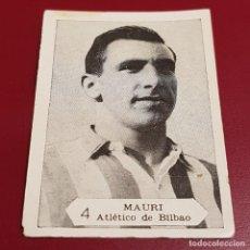 Figurine di Calcio: GRAFICAS NILO - FOTO FUTBOL CAMPEONATO 1958 1959 - 58 59 - BILBAO - MAURI 4 - NUNCA PEGADO. Lote 254702110