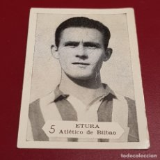 Figurine di Calcio: GRAFICAS NILO - FOTO FUTBOL CAMPEONATO 1958 1959 - 58 59 - BILBAO - ETURA 5 - NUNCA PEGADO. Lote 254702290