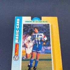 Cromos de Fútbol: FRAN 11 DEPORTIVO CORUÑA CRACKS LIGA 94-95 MAGIC-CARD MATUTANO 1994. Lote 254724160