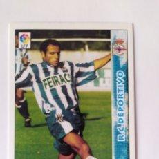 Cromos de Fútbol: MUNDICROMO 1998 1999 98 99 MANUEL PABLO N° 434 DEPORTIVO CORUÑA. Lote 254724445