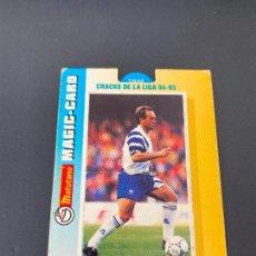 Cromos de Fútbol: PARDEZA 12 ZARAGOZA CRACKS LIGA 94-95 MAGIC-CARD MATUTANO 1994. Lote 254724510