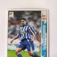 Cromos de Fútbol: MUNDICROMO 1998 1999 98 99 NAYBET CORREGIDO N° 207 DEPORTIVO CORUÑA. Lote 254725115