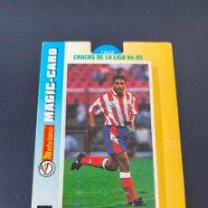 Cromos de Fútbol: MANOLO 16 ATLETICO MADRID CRACKS LIGA 94-95 MAGIC-CARD MATUTANO 1994. Lote 254725160