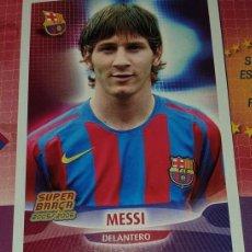 Cartes à collectionner de Football: PANINI SUPER BARÇA 2005 CROMO LEO MESSI ROOKIE RECUPERADO ALBUM 05 06 FC BARCELONA. Lote 254779290