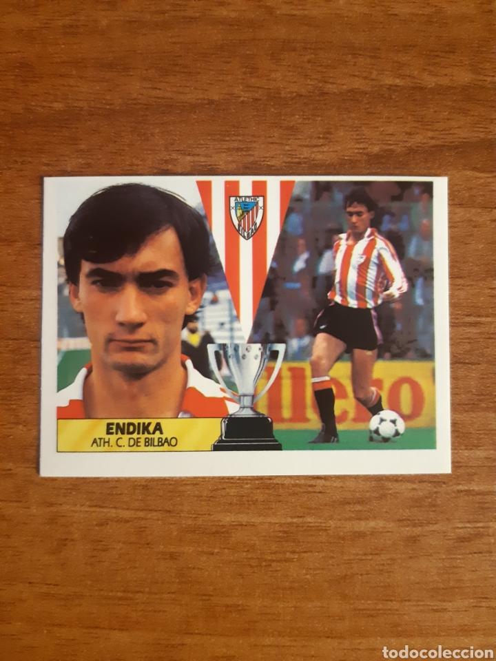 BAJA ENDIKA (ATHLETIC BILBAO) LIGA 87-88 ESTE. NUNCA PEGADO, NUEVO (Coleccionismo Deportivo - Álbumes y Cromos de Deportes - Cromos de Fútbol)