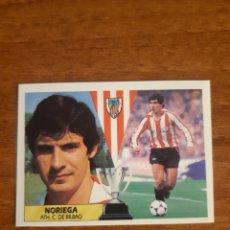 Cromos de Fútbol: BAJA NORIEGA (ATHLETIC BILBAO) LIGA 87-88 ESTE. NUNCA PEGADO, NUEVO. Lote 254799545