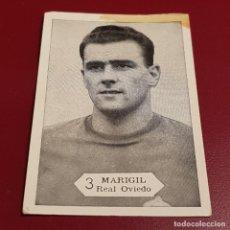 Cromos de Fútbol: GRAFICAS NILO - FOTO FUTBOL CAMPEONATO 1958 1959 - 58 59 - OVIEDO - MARIGIL 3 - NUNCA PEGADO. Lote 254801020
